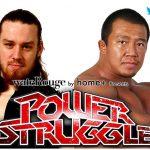【POWER STRUGGLE】11・5大阪大会の対戦カードが決定!【新日本プロレス】
