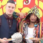 【新日本プロレス】調印式にて披露されたヒロムのフライドチキン芸に「さすが!」の声(俺の)